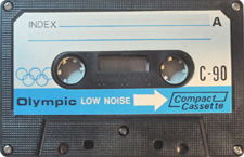 OLYMPIC C90_MCiPjH_121006 audio cassette tape